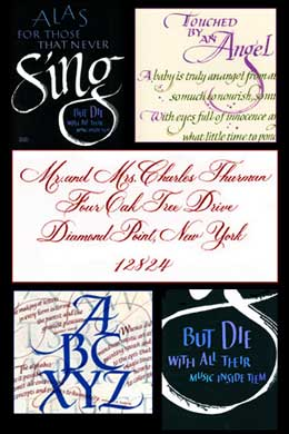 Freelance Calligraphers For Hire