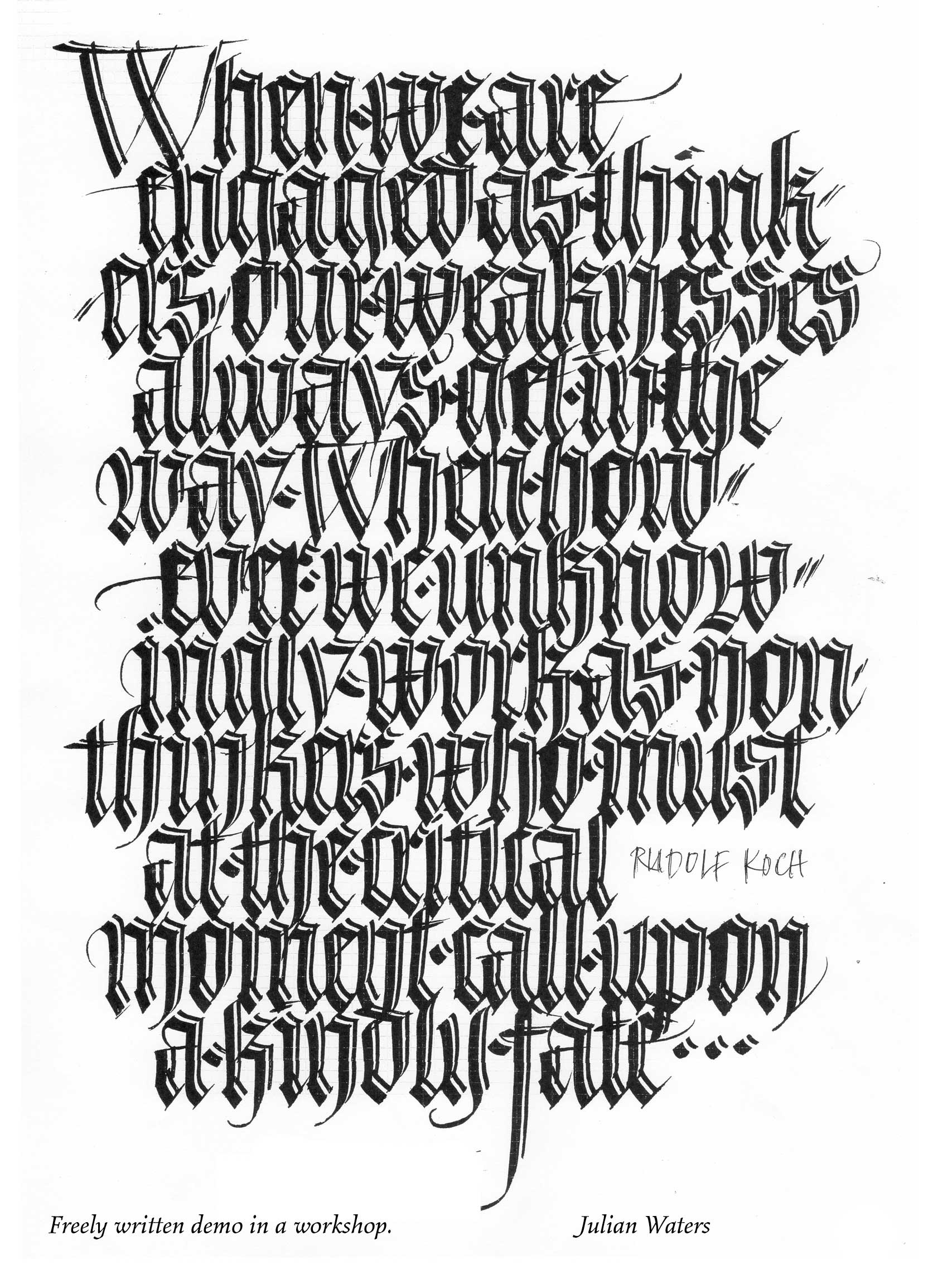 Calligraphy Favourites On Pinterest Calligraphy Berlin